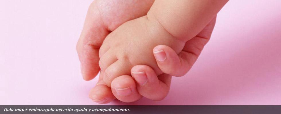 Toda mujer embarazada necesita ayuda y acompañamiento.